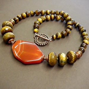 Golden Tiger Eye Meanings Properties Necklaces Tampa