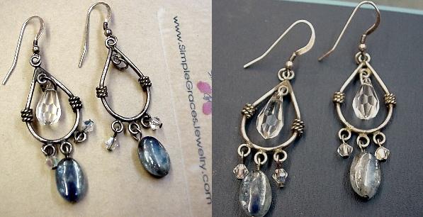 Crystal Chandelier Earring Repair