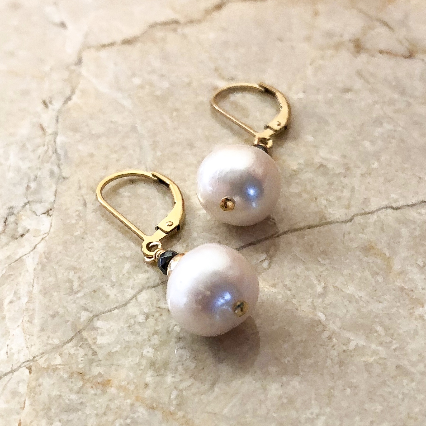 Sumptuous Pearl Earrings