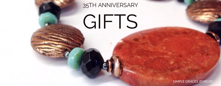 35th Anniversary Gifts Archives Simple Graces Jewelry